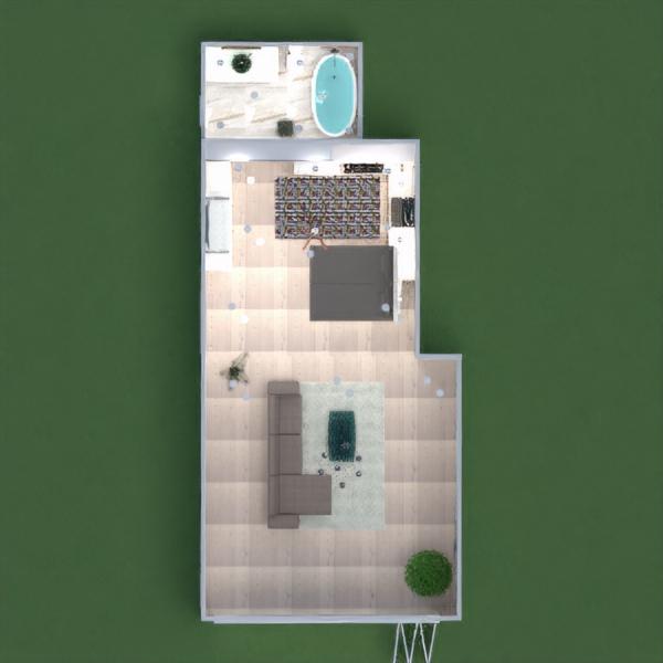 floorplans dekor küche architektur 3d