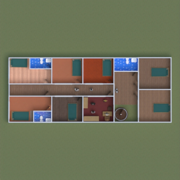 floorplans casa varanda inferior 3d