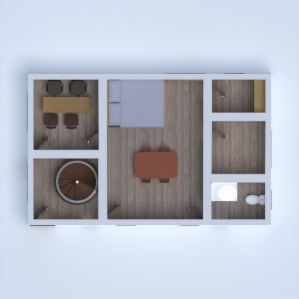 floorplans estúdio 3d