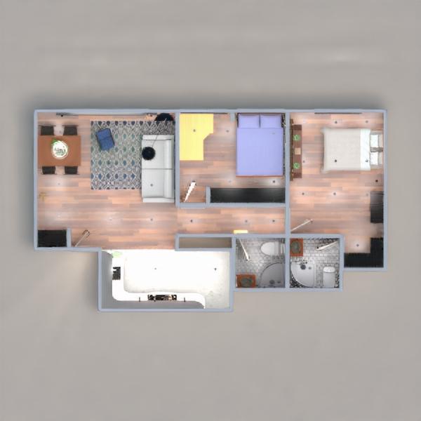 floorplans decor bathroom bedroom dining room architecture 3d