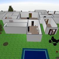 floorplans casa muebles cuarto de baño garaje habitación infantil 3d