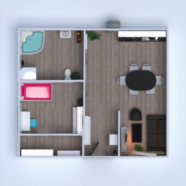floorplans dom meble wystrój wnętrz łazienka sypialnia pokój dzienny kuchnia oświetlenie jadalnia architektura wejście 3d