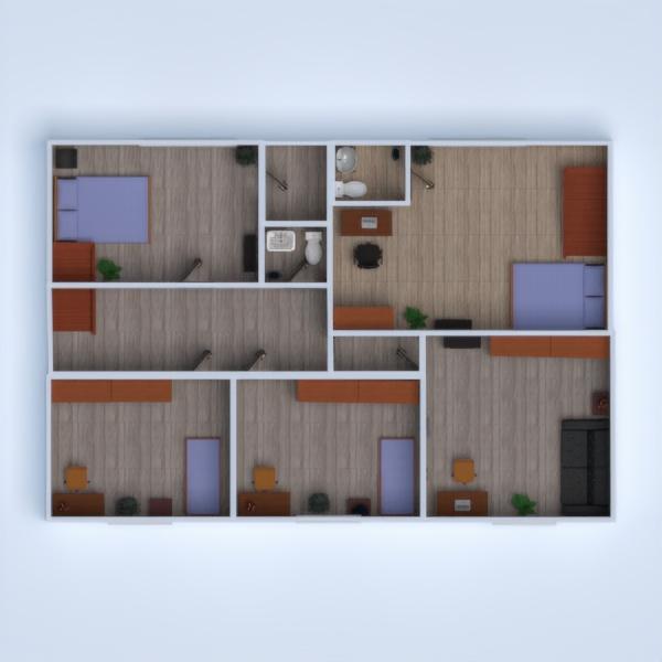 floorplans дом сделай сам спальня гостиная прихожая 3d