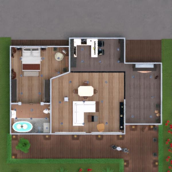 floorplans wohnung mobiliar dekor badezimmer schlafzimmer wohnzimmer küche beleuchtung haushalt 3d