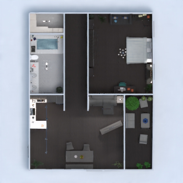 floorplans apartment renovation 3d