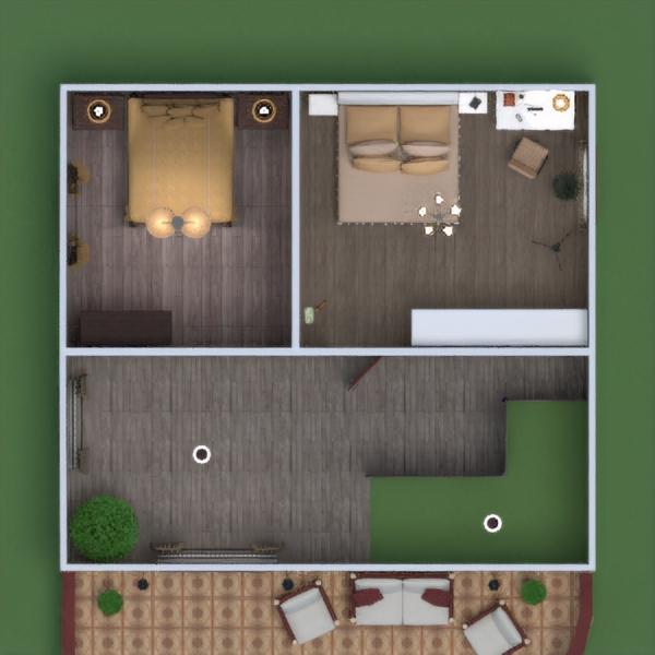floorplans apartamento casa terraza muebles decoración cuarto de baño dormitorio salón cocina exterior iluminación reforma paisaje hogar arquitectura trastero estudio descansillo 3d