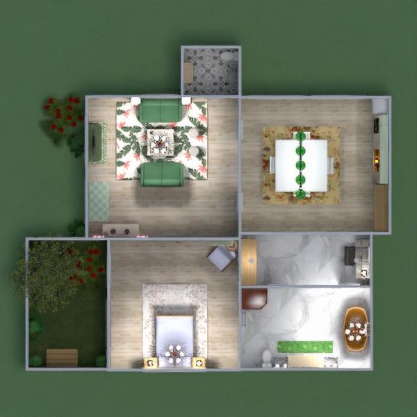 floorplans casa bagno camera da letto esterno sala pranzo 3d