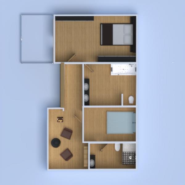 floorplans haus mobiliar dekor landschaft architektur 3d