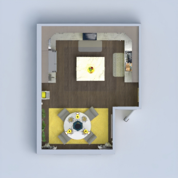 floorplans decor kitchen lighting dining room 3d