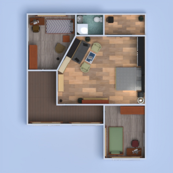 floorplans haus terrasse badezimmer schlafzimmer wohnzimmer haushalt architektur 3d