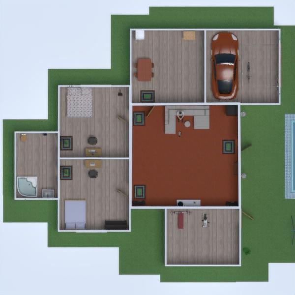 floorplans apartamento casa cozinha paisagismo arquitetura 3d