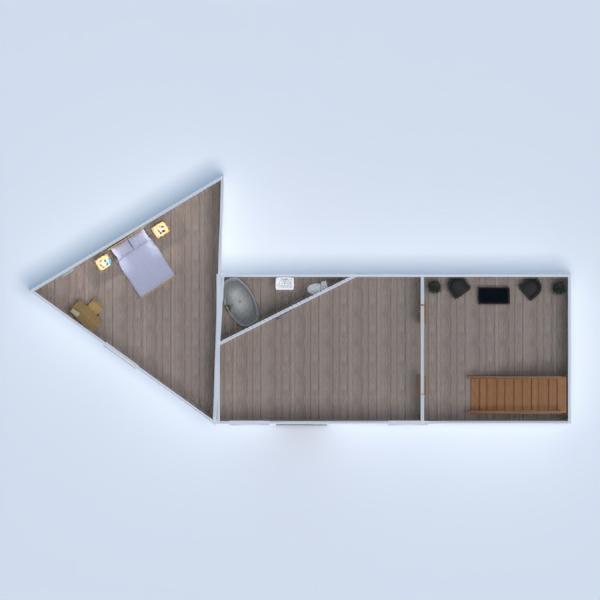 floorplans dom taras łazienka sypialnia pokój dzienny 3d