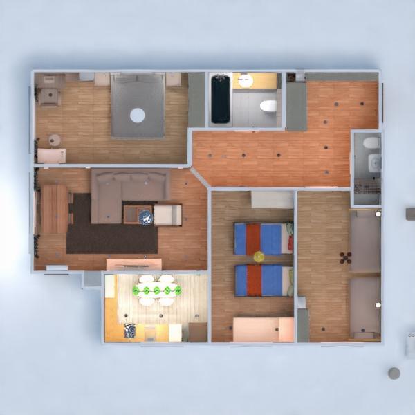 floorplans appartement maison meubles 3d