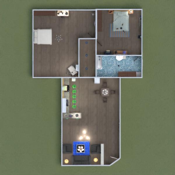 floorplans apartamento muebles decoración iluminación 3d