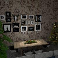 floorplans appartement décoration salon eclairage salle à manger 3d