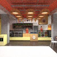 floorplans varanda inferior mobílias decoração faça você mesmo cozinha escritório iluminação reforma cafeterias sala de jantar despensa estúdio 3d