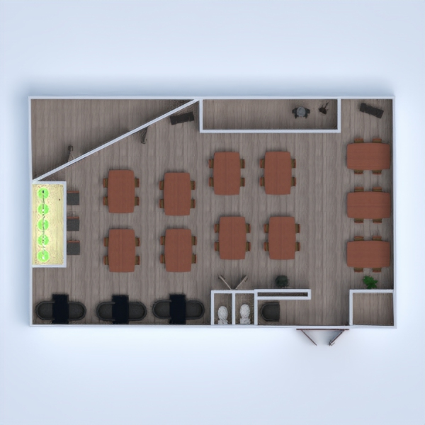 floorplans salon 3d
