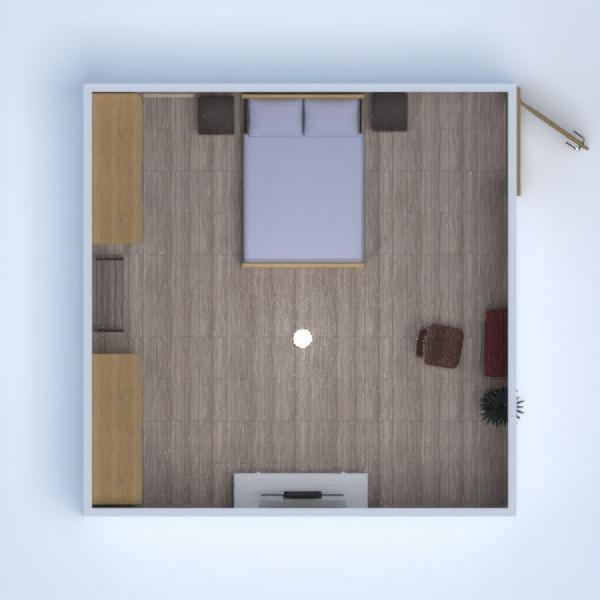 floorplans casa dormitório utensílios domésticos 3d