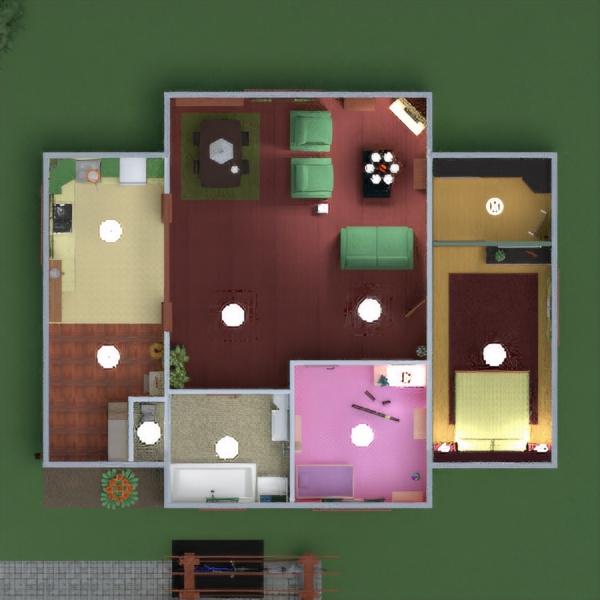 floorplans дом мебель декор ванная спальня гостиная гараж кухня улица детская освещение ландшафтный дизайн столовая хранение прихожая 3d