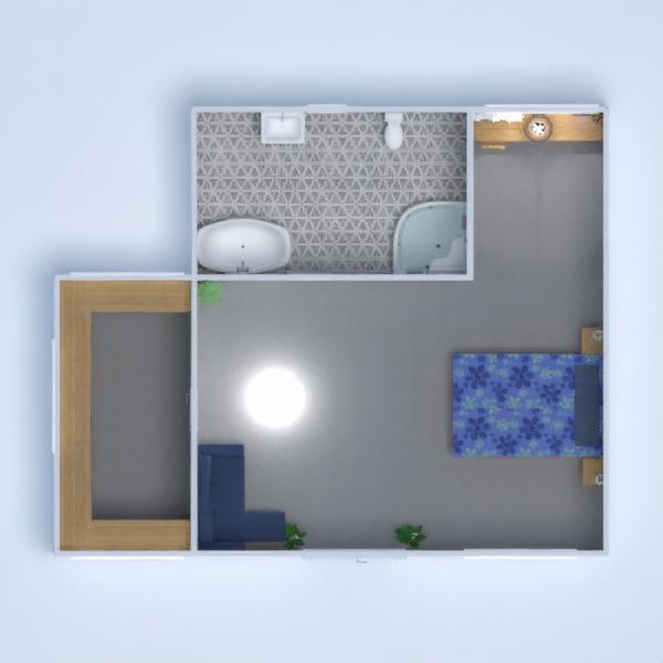 floorplans meble wystrój wnętrz sypialnia biuro 3d