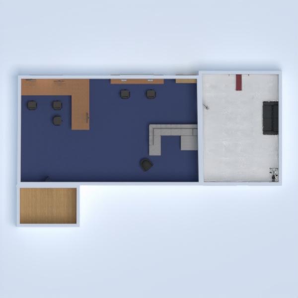 floorplans casa garage cucina sala pranzo 3d