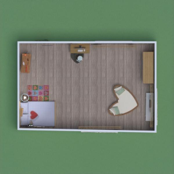 progetti arredamento decorazioni camera da letto paesaggio architettura 3d
