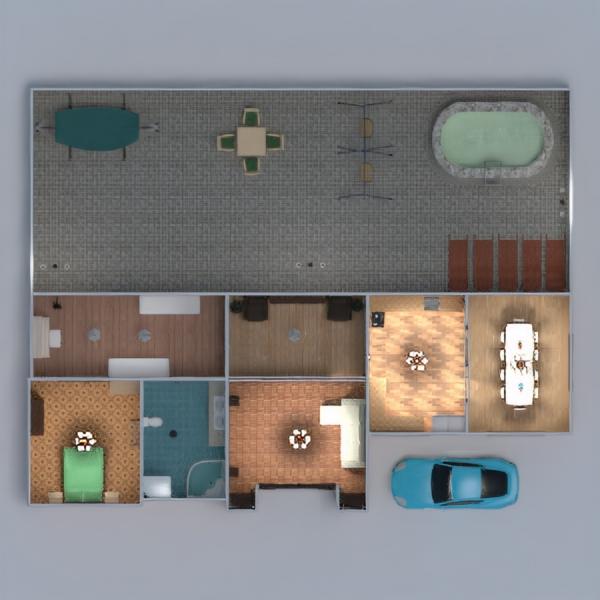 floorplans namas baldai dekoras pasidaryk pats vonia miegamasis svetainė virtuvė eksterjeras apšvietimas namų apyvoka valgomasis аrchitektūra 3d