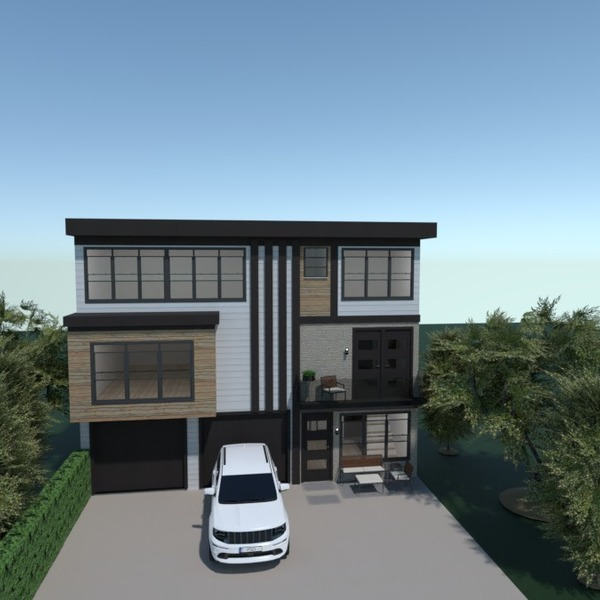 floorplans casa paisagismo arquitetura 3d