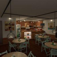 floorplans terraza muebles decoración bricolaje exterior iluminación paisaje hogar cafetería arquitectura descansillo 3d