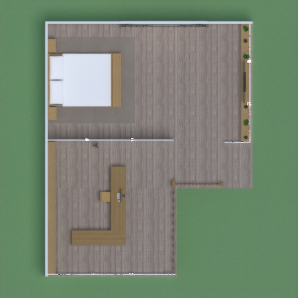 floorplans casa exterior arquitectura trastero descansillo 3d