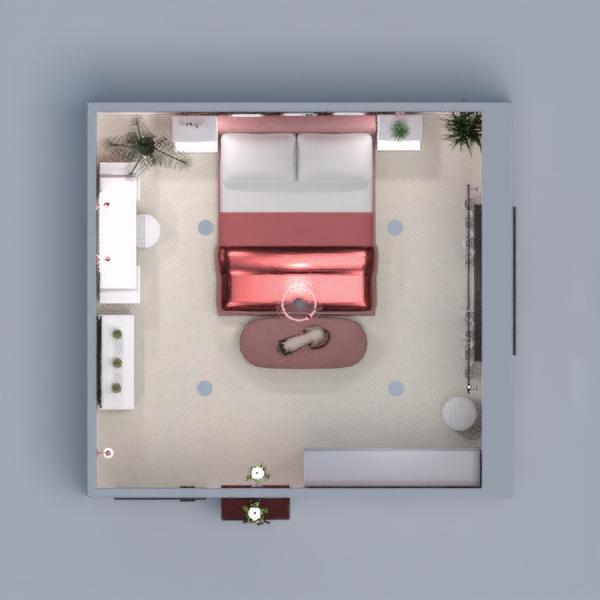 floorplans dekoras miegamasis apšvietimas 3d