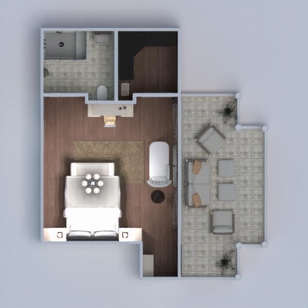 floorplans casa camera da letto architettura 3d