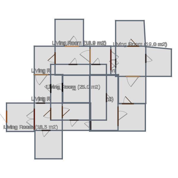 floorplans ландшафтный дизайн 3d