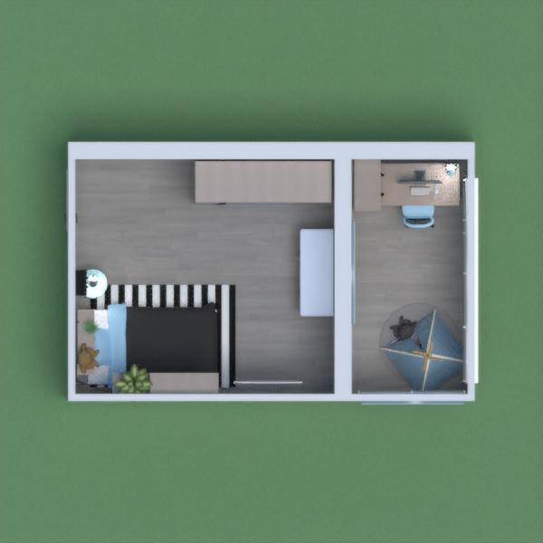 floorplans quarto infantil 3d