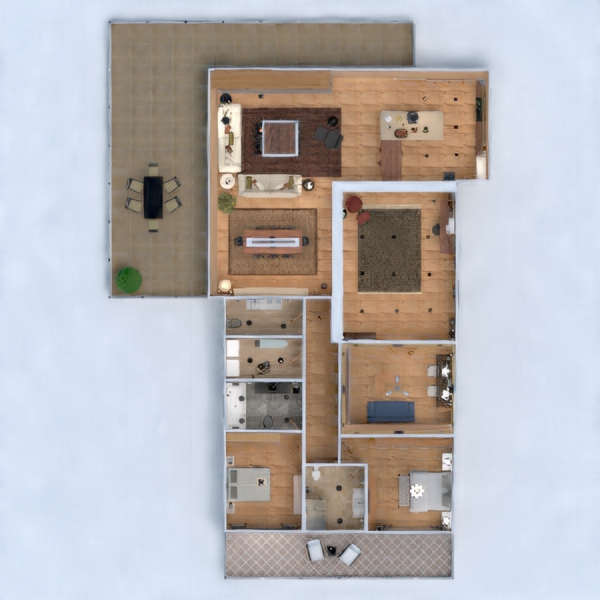 floorplans appartamento casa arredamento decorazioni angolo fai-da-te bagno camera da letto saggiorno cucina studio illuminazione famiglia sala pranzo architettura ripostiglio vano scale 3d