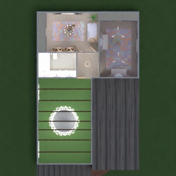 floorplans dom pokój dzienny oświetlenie architektura 3d