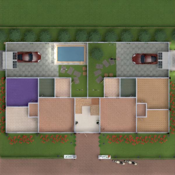 floorplans apartamento varanda inferior decoração faça você mesmo casa de banho quarto garagem cozinha área externa iluminação arquitetura 3d