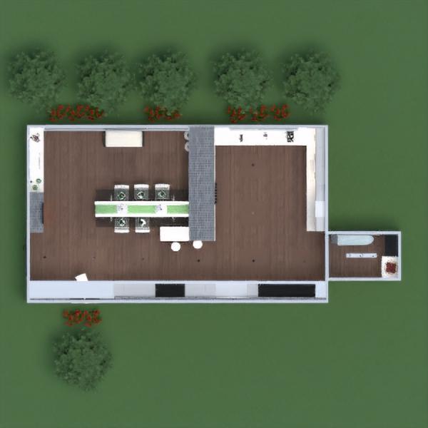 планировки мебель декор освещение техника для дома столовая архитектура 3d