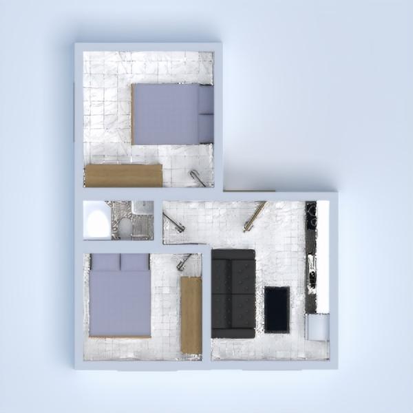 планировки архитектура хранение студия прихожая 3d