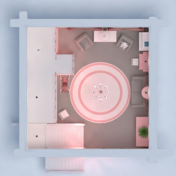 floorplans casa muebles decoración habitación infantil iluminación trastero 3d