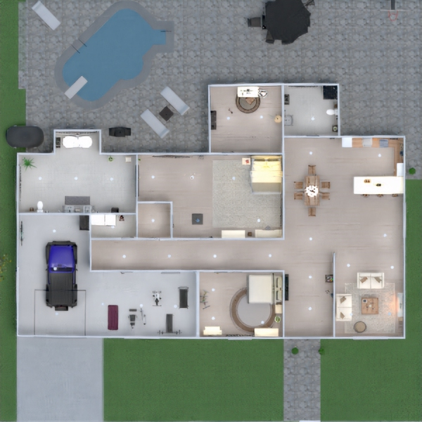 floorplans house decor outdoor household studio 3d