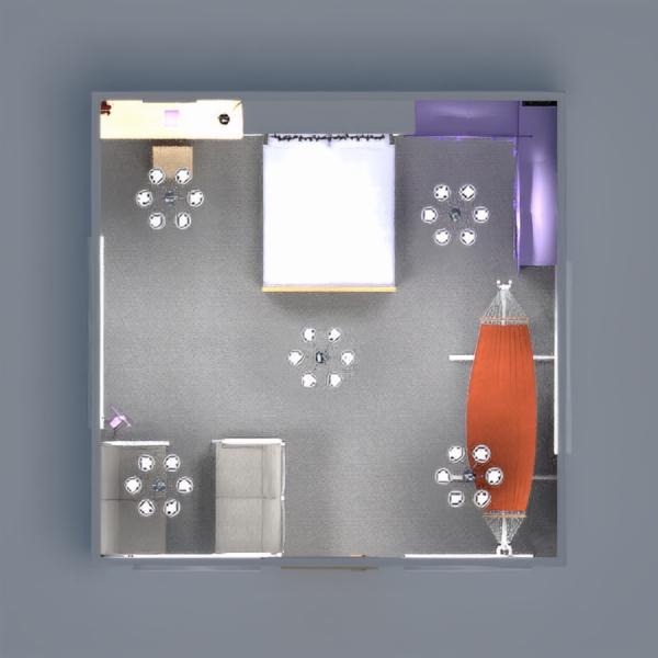 floorplans dekoras miegamasis apšvietimas sandėliukas studija 3d