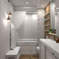 floorplans wohnung haus mobiliar dekor badezimmer lagerraum, abstellraum 3d