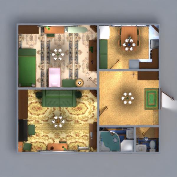 floorplans apartamento mobílias decoração faça você mesmo casa de banho quarto cozinha quarto infantil iluminação reforma utensílios domésticos patamar 3d