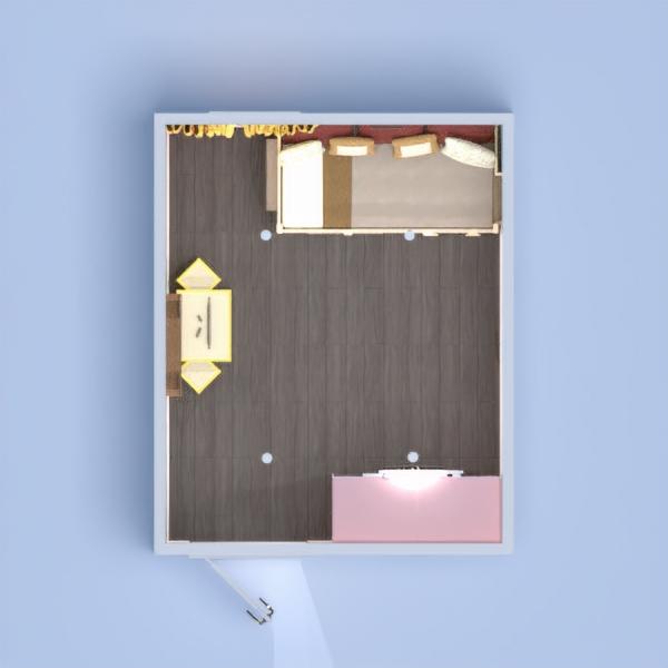 floorplans mieszkanie dom meble pokój diecięcy oświetlenie 3d