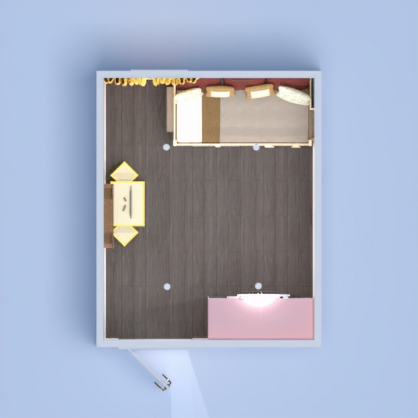 floorplans wohnung haus mobiliar kinderzimmer beleuchtung 3d
