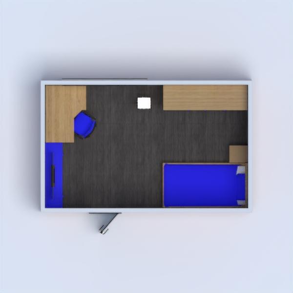 floorplans furniture decor kids room 3d