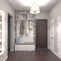 floorplans butas namas baldai dekoras sandėliukas prieškambaris 3d