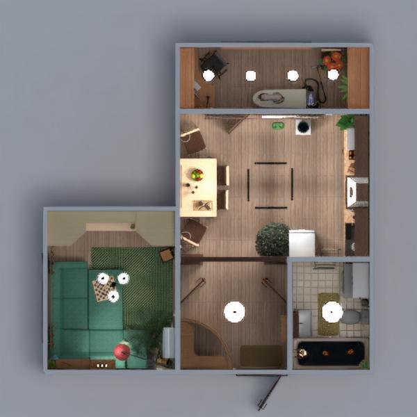 floorplans mieszkanie meble wystrój wnętrz zrób to sam łazienka sypialnia kuchnia oświetlenie przechowywanie wejście 3d