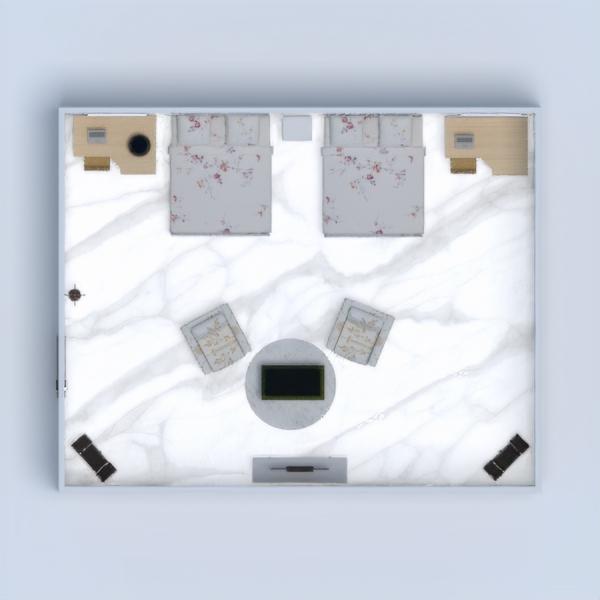 floorplans camera da letto cameretta studio 3d
